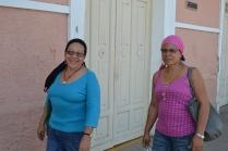 Rafaela and Marta (friend and principal of Acahualinca, public school we will soon visit).