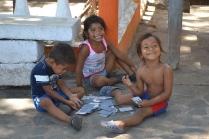 Local kids.