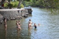 Cooling off in Lake Nicaragua.