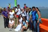 The group at La Catarina (volcanic lagoon).
