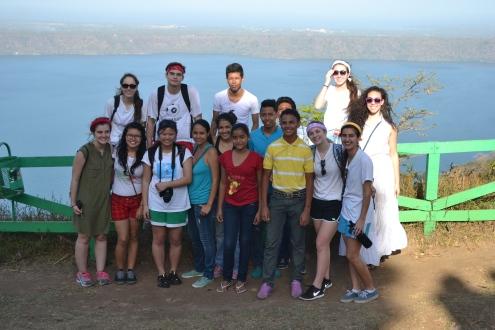 Another group shot at La Catarina.