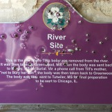 Day 4 Tallahatchie River sign